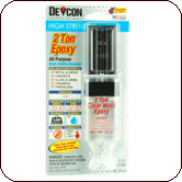 Devcon 2-Ton® Clear Weld 2-Part 30 Minute Epoxy 25 ml