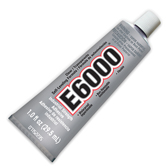 E6000 Adhesive - Medium Viscosity 1 oz.