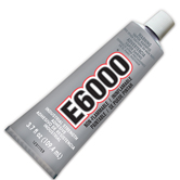 E6000 Adhesive - Medium Viscosity 3.7 oz.
