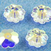 SWAROVSKI® ELEMENTS 3700 Marguerite Flower Beads 14mm Crystal AB