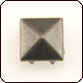 Nailhead 40ss Square (Pyramid) - Antique Nickel