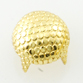 Nailhead 30ss Stippled Pearl (Round) - Gold