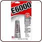 E6000 Adhesive - Medium Viscosity 0.5 oz.