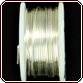 Rhinestone Biz Colored Copper Wire 32 Gauge 30 Yard - Silver