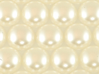 Rhinestone Biz (2080) Acrylic Flat Back Pearls 8mm - Cream