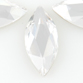 SWAROVSKI® ELEMENTS (2201) Marquise Flat Back 14x6mm Crystal Clear