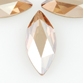 SWAROVSKI® ELEMENTS (2201) Marquise Flat Back 8x3.5mm Crystal Golden Shadow