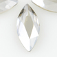 SWAROVSKI® ELEMENTS (2201) Marquise Flat Back 8x3.5mm Crystal Silver Shade