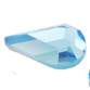 SWAROVSKI® ELEMENTS (2300) Drop Flat Back Rhinestones 8x4.8mm Aquamarine