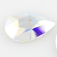 SWAROVSKI® ELEMENTS (2303) Pear Flat Back 14x9mm Crystal AB