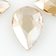 SWAROVSKI® ELEMENTS (2303) Pear Flat Back 8x5mm Crystal Golden Shadow