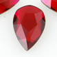 SWAROVSKI® ELEMENTS (2303) Pear Flat Back 8x5mm Scarlet