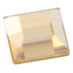 SWAROVSKI® ELEMENTS (2400) Square Flat Back Rhinestones 2.2mm Crystal Golden Shadow