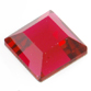 SWAROVSKI® ELEMENTS (2400) Square Flat Back Rhinestones 3mm Scarlet