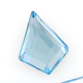 SWAROVSKI® ELEMENTS (2771) Kite Hot Fix Rhinestones 6.4x4.2mm Aquamarine