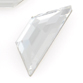 SWAROVSKI® ELEMENTS (2772) Trapeze Flat Back Rhinestones 12.9x4.2mm Crystal Clear