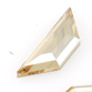 SWAROVSKI® ELEMENTS (2772) Trapeze Flat Back Rhinestones 6.5x2.1mm Crystal Golden Shadow