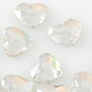 SWAROVSKI® ELEMENTS (2808) Heart Flat Back 6mm Crystal Clear