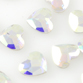 SWAROVSKI® ELEMENTS (2808) Heart Flat Back 6mm Crystal AB