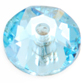 SWAROVSKI® ELEMENTS (3188) XIRIUS Lochrose Sew-on Rhinestones 3mm Aquamarine