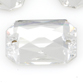 SWAROVSKI® ELEMENTS (3252) Emerald Cut Sew-on Rhinestones 14x10mm Crystal Clear