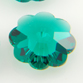SWAROVSKI® ELEMENTS 3700 Marguerite Flower Beads 6mm Emerald (Unfoiled)