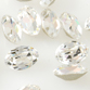 SWAROVSKI® ELEMENTS (4120) Oval Rhinestone 6x4mm Crystal Clear