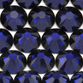 SWAROVSKI® ELEMENTS 2058 Flat Back Rhinestones 7ss Dark Indigo