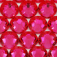 SWAROVSKI® ELEMENTS 2058 Flat Back Rhinestones 7ss Indian Pink