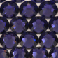 SWAROVSKI® ELEMENTS 2058 Flat Back Rhinestones 9ss Purple Velvet