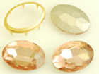 VALUE BRIGHT™ Fancy 24x17mm Oval (4120) Vintage Rose