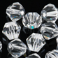 VALUE BRIGHT™ 5308 Bicone Beads 6mm Crystal Clear