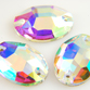 VALUE BRIGHT™ Sew-on 24x17mm Oval (3210) Crystal AB
