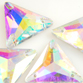 VALUE BRIGHT™ Sew-on 23mm Triangle (3270) Crystal AB
